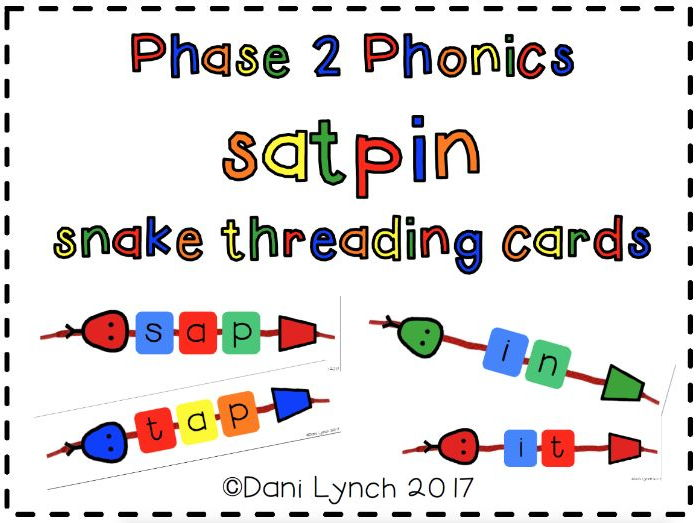 Phase 2 SATPIN lacing snake cards
