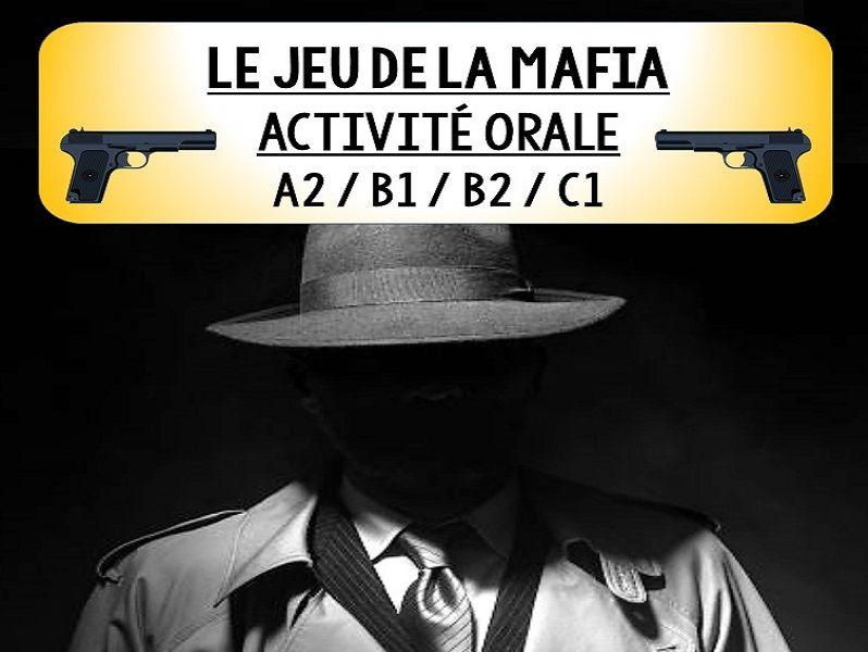 LE JEU DE LA MAFIA - No Prep French Speaking Game