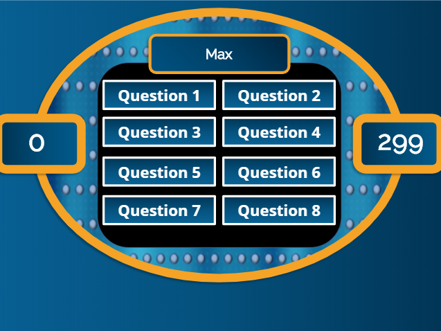 Family Feud Parts of Speech - Game Show Common Core Aligned