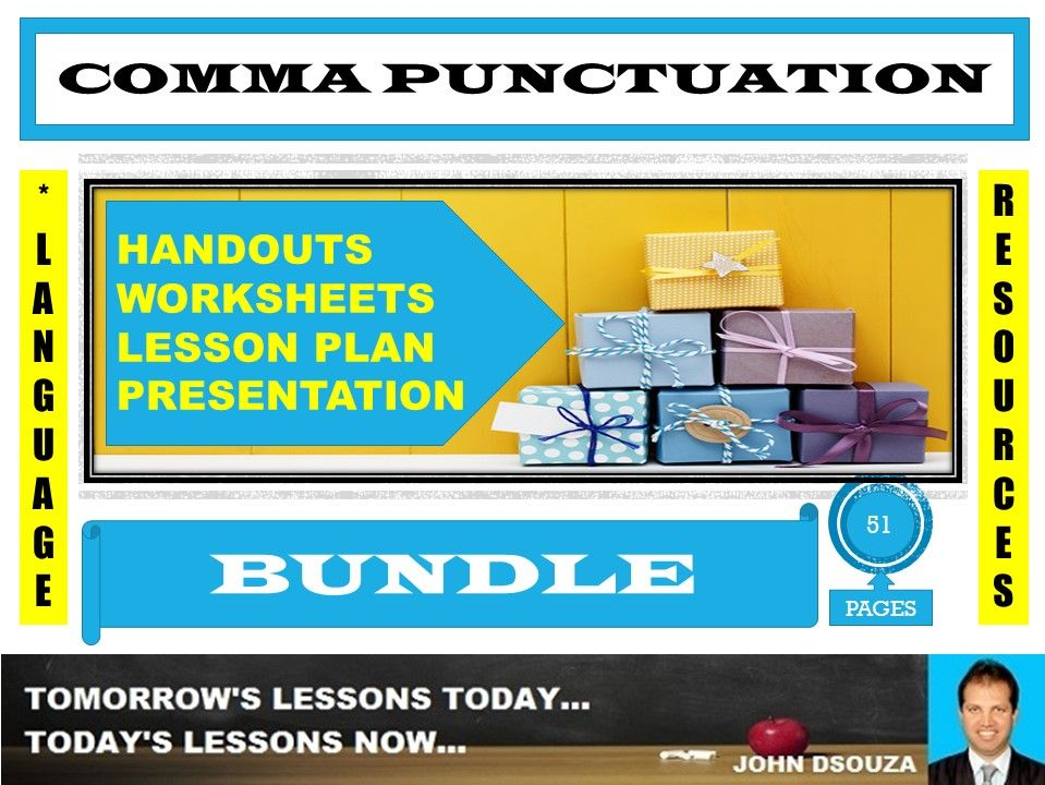 COMMA PUNCTUATION BUNDLE