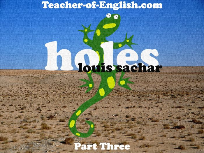 Holes – Chapters 5 to 8 (PowerPoint, lesson plans & worksheets)