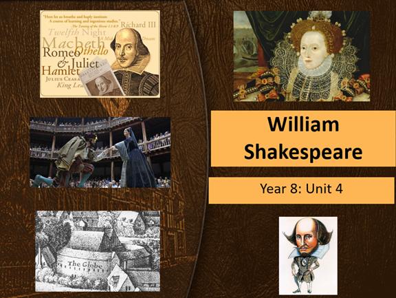 Shakespeare's Romeo and Juliet: Year 8 Scheme of Work