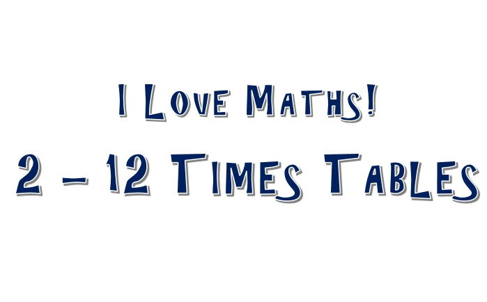 2 - 12 Times Tables