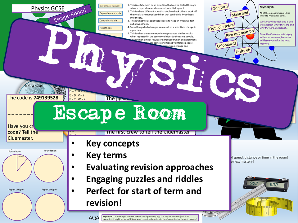 Physics Escape Room
