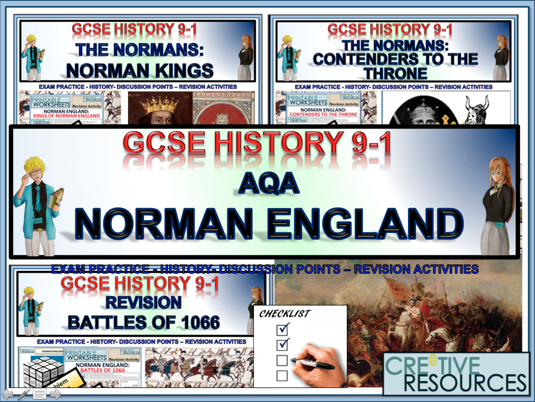 Norman England Revision - History