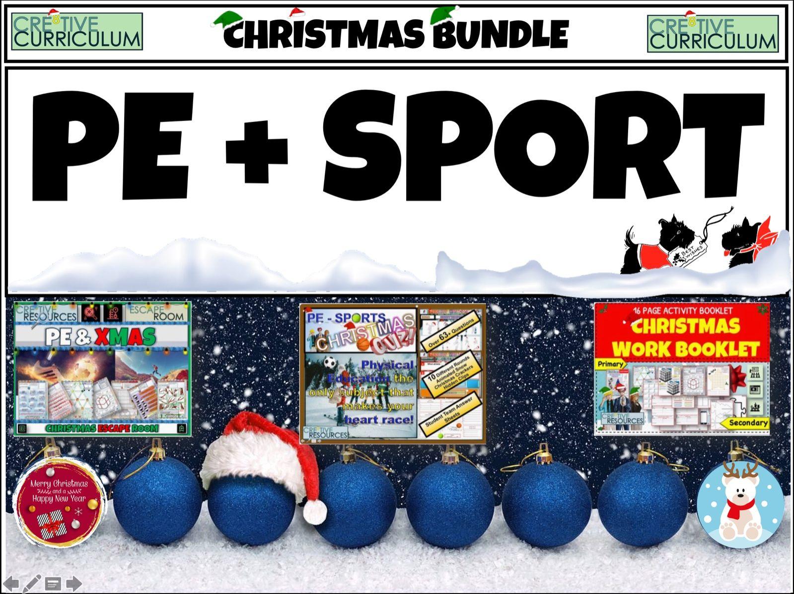 PE + Sport Christmas End of Term
