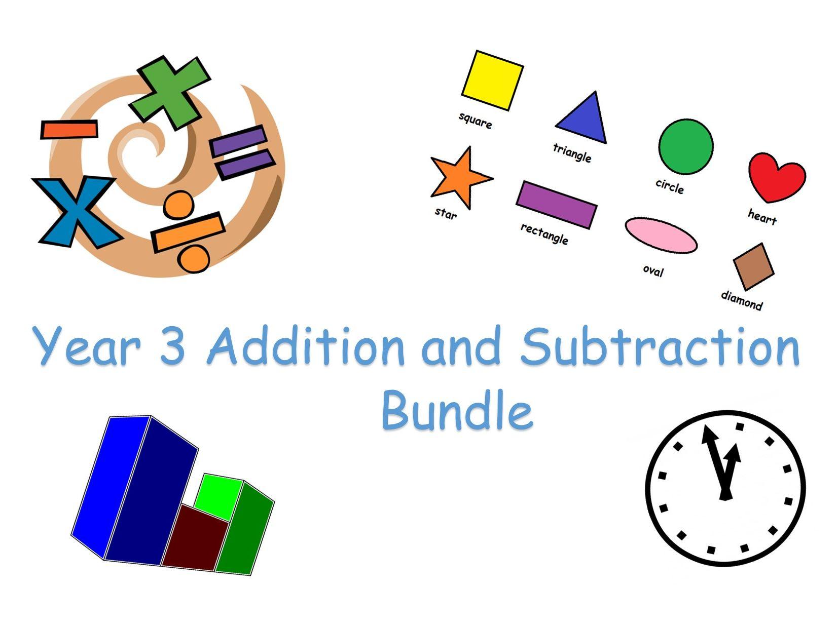 Y3 Maths - Operations Bundle