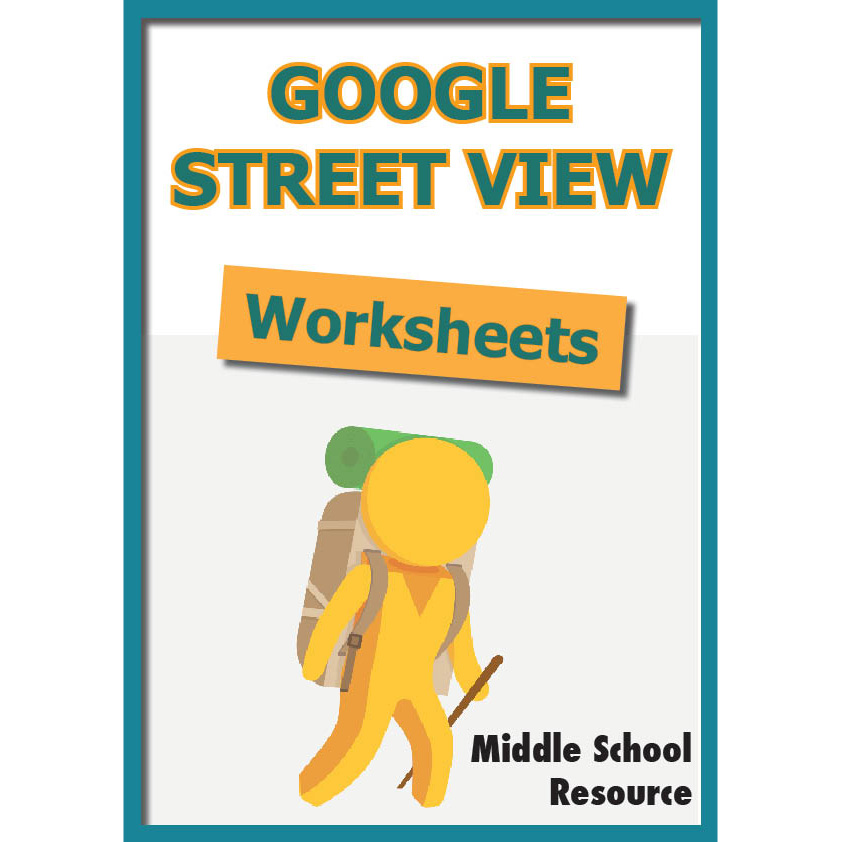 Google Street View Worksheets