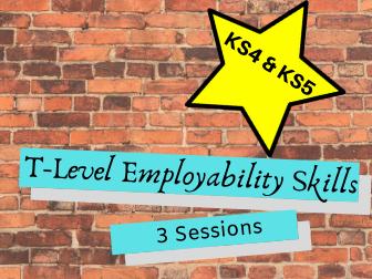 T-Level Employability Skills Sessions