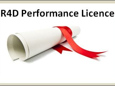R4D Performance Licence