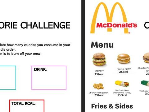 McDonalds's Themed Fitness Workout
