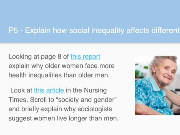 Unit 10 Sociological Perspectives Learning Aim C Health and Social Care