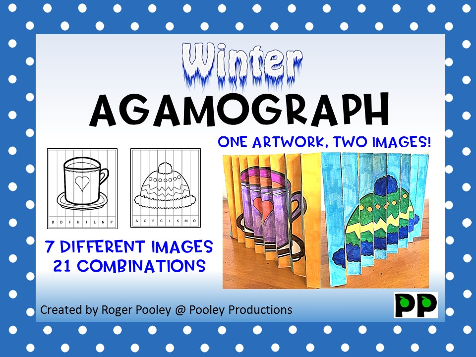Winter Agamograph, 50 pages, video