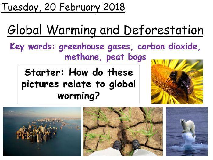 AQA Biology Global Warming and Deforestation