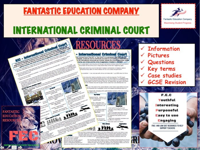 International Criminal Court Teaching Handout Revision Map