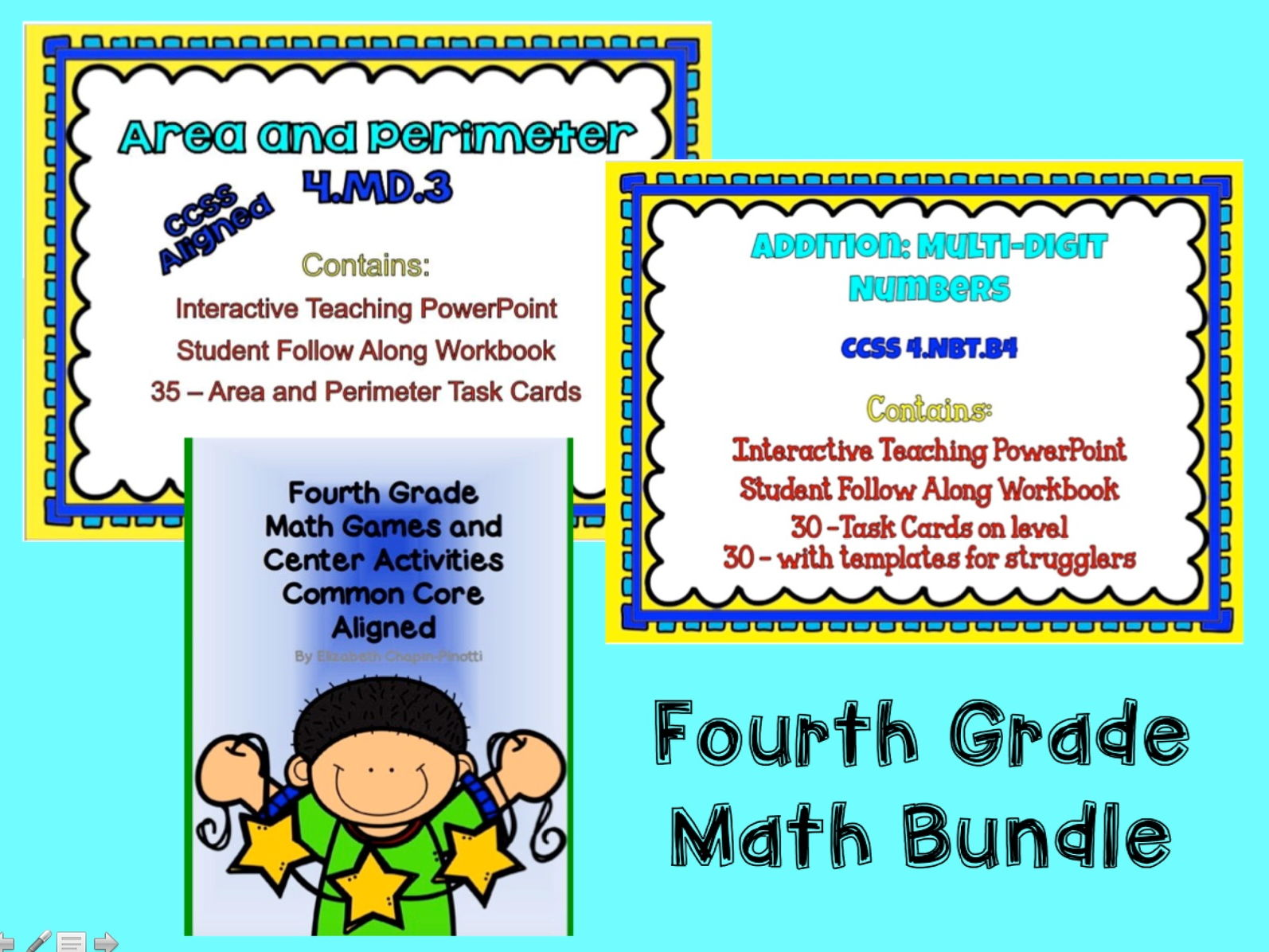 Fourth Grade Math Multi-Digit Addition 4.NBT.4 Teaching PowerPoint ...