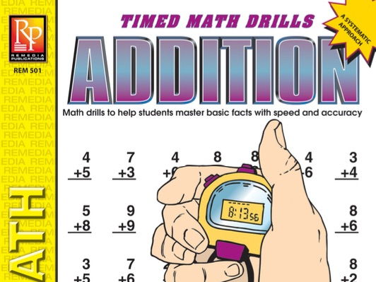 Addition: Timed Math Drills