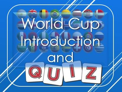 World Cup: Introduction and Quiz