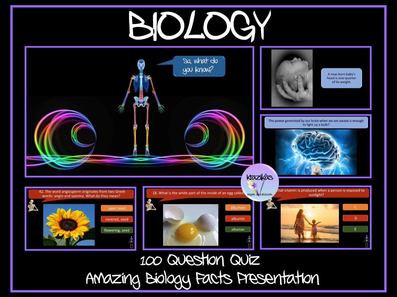 Biology Quiz and Amazing Biology Facts