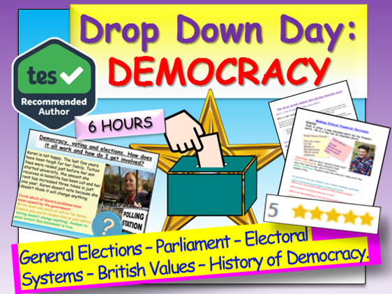 Democracy Drop Down Day