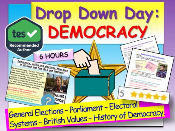 Democracy Drop Down Day
