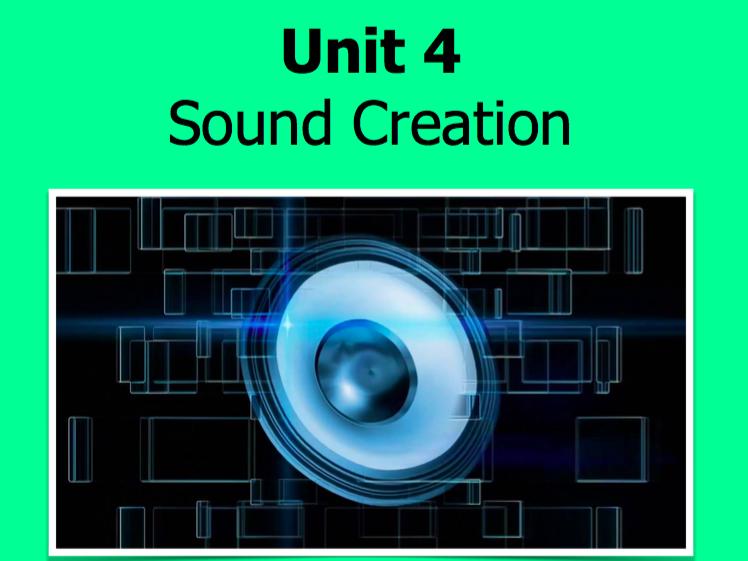 NCFE Music Technology - Unit 4