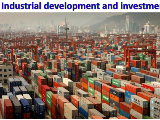 KS3 Development - Industrial development and investment