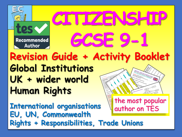 Citizenship GCSE 9-1 Revision: Global Institutions / Human Rights