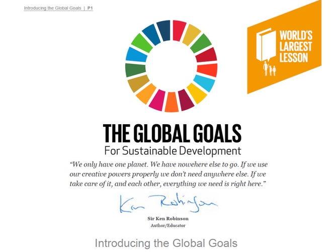 Introducing The Global Goals 60 min