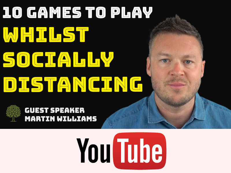 10 Children's Games To Play Whilst Socially Distancing