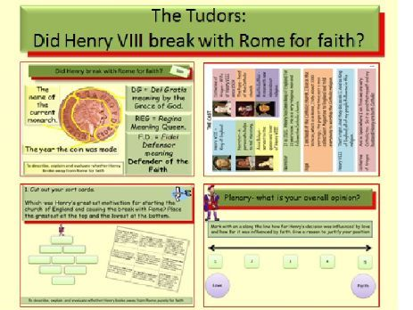 The Tudors: Did Henry VIII break with Rome for faith?