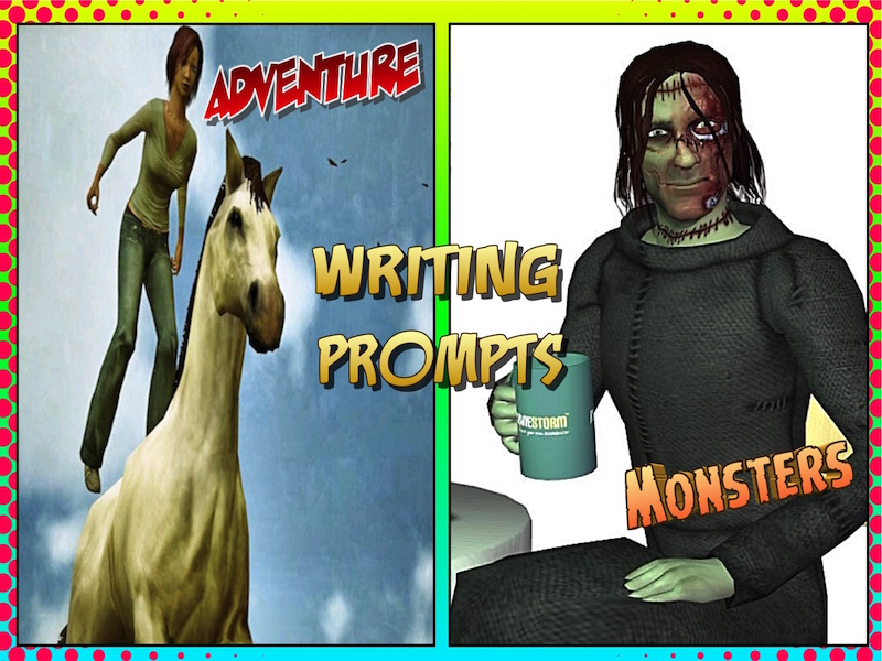 Picture Prompts for Story, Interview and Diary Writing