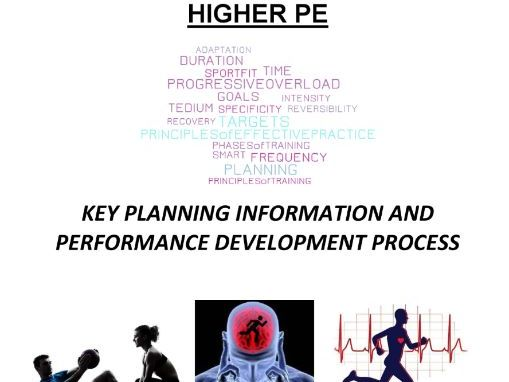Higher PE Performance Development Process