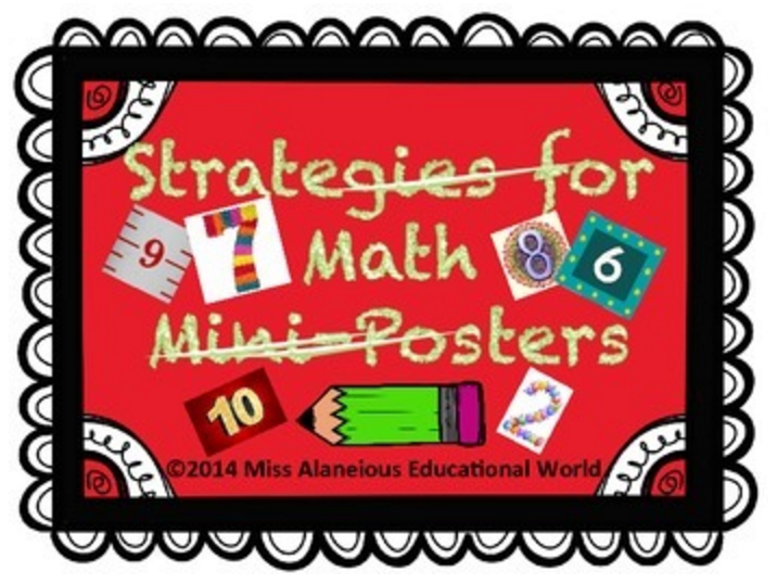 Strategies for Math Mini-Posters
