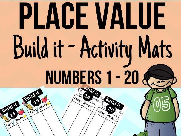 Place Value Build It Mats
