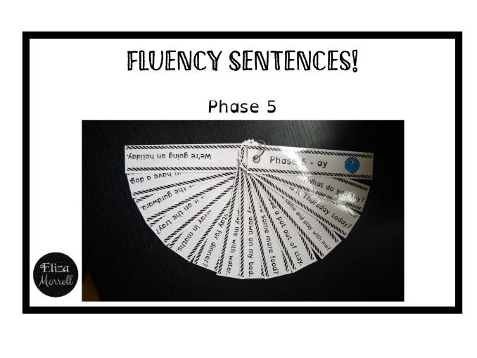 Phonics - Phase 5 - Fluency Sentences