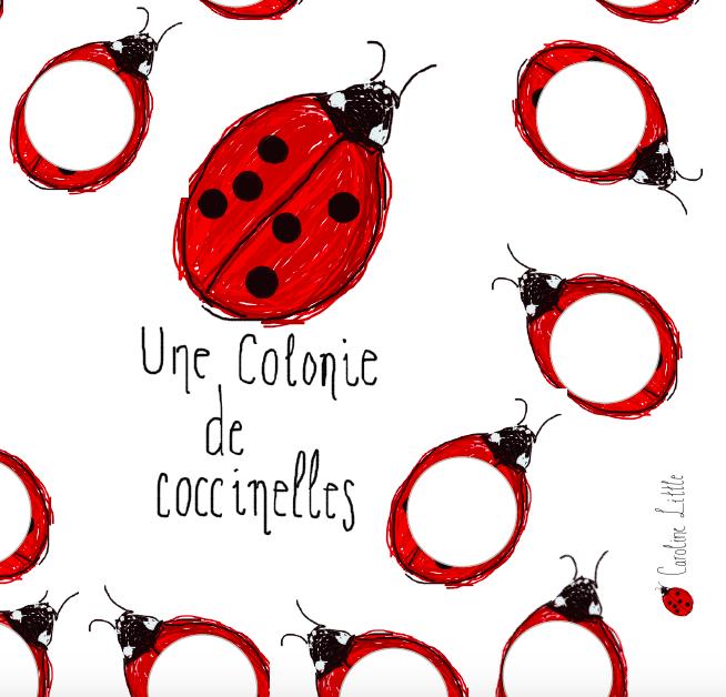 Une colonie de coccinelles