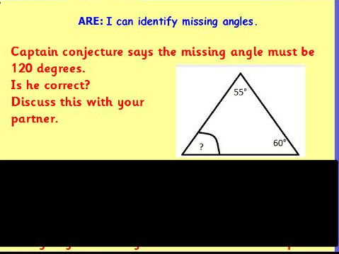 Angles REASONING - PROVE IT Lesson Pack