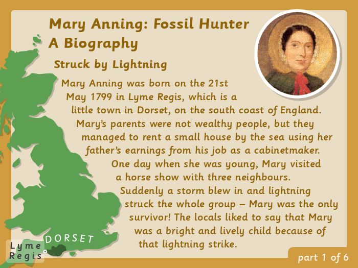 KS2 Biography: Mary Anning