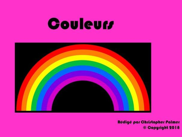 French: Colours and agreements (Key stage 3)
