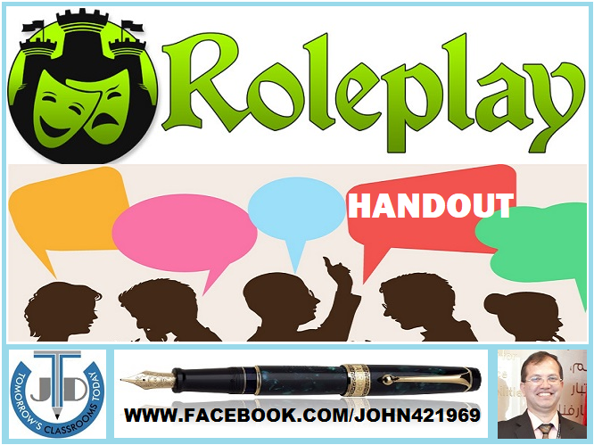 ROLE-PLAY: HANDOUT