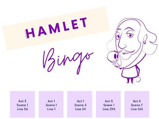 Hamlet Bingo