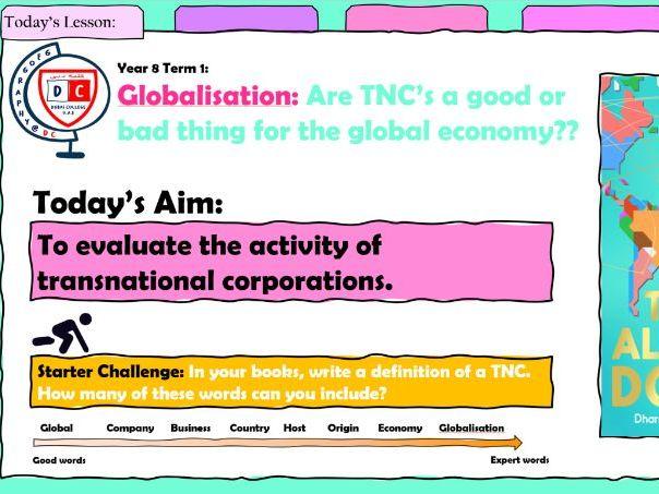 Globalisation - KS3