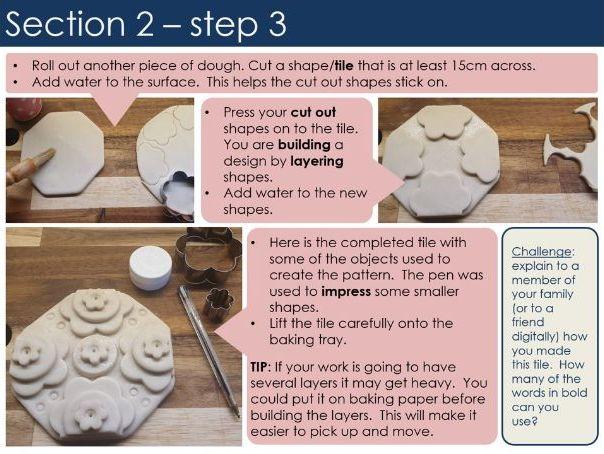 Salt Dough sculpture for KS3 and GCSE