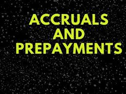 Accruals and Prepayments - 10 questions with worked answers