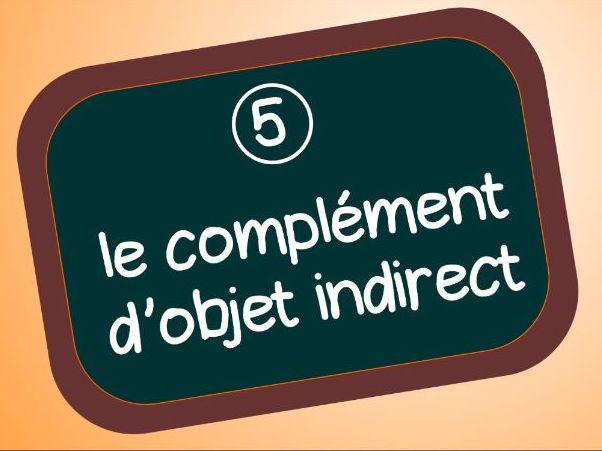 Grammaire: les pronoms complements d'objet indirect