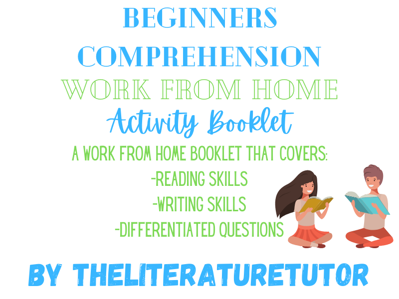 Comprehension Work From Home Booklet