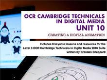 CAMBRIDGE TECHNICALS 2016 LEVEL 3 in DIGITAL MEDIA - UNIT 10 - LESSON 8