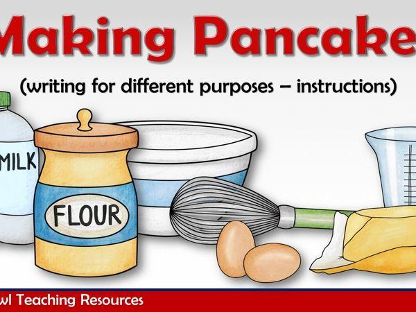 Making Pancakes PowerPoint