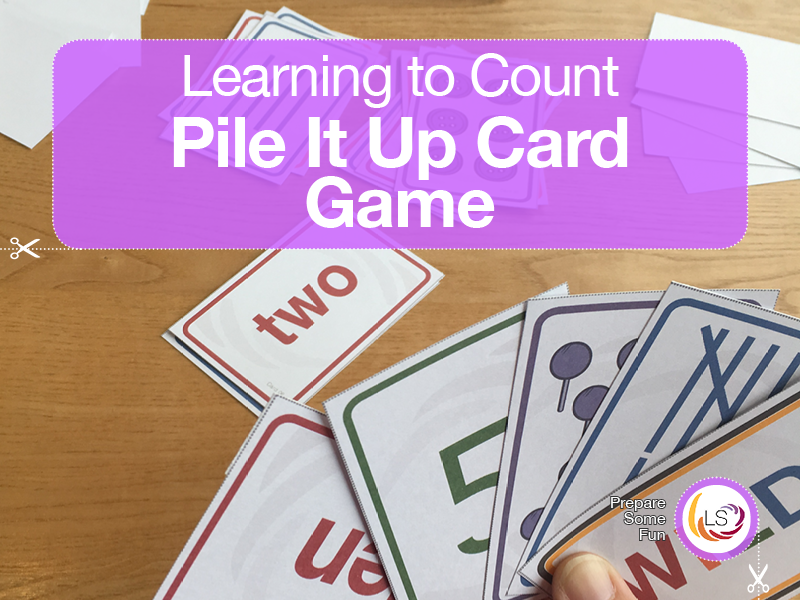 Pile it Up! Learning to Count Card Game